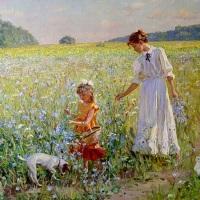 Le jardin d'antan - Emile NELLIGAN