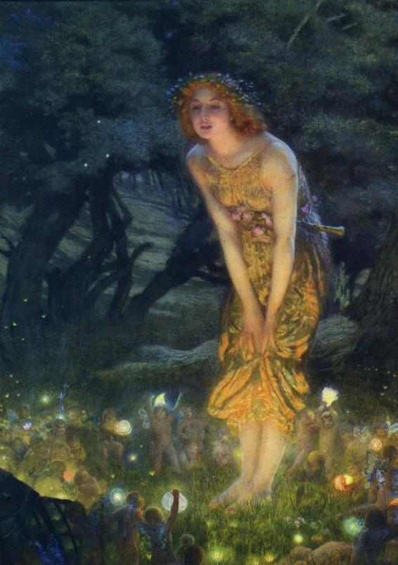 Hughes Midsummer Eve 1908