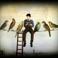 Je suis le triste oiseau de la nuit solitaire – Siméon-Guillaume de LA ROQUE